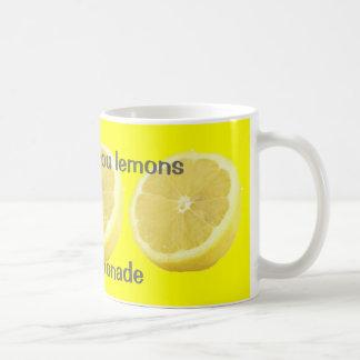 Mug Limonade - si la vie vous donne des conseils de