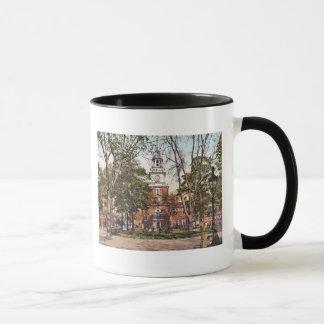 Mug L'indépendance Hall Philadelphie, cru 1900 de PA