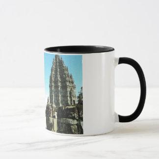 Mug L'Indonésie vintage, Java, temple hindou de