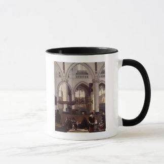 Mug L'intérieur d'Oude Kerk, Amsterdam, c.1660