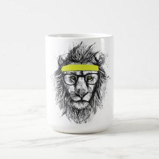 Mug lion de hippie