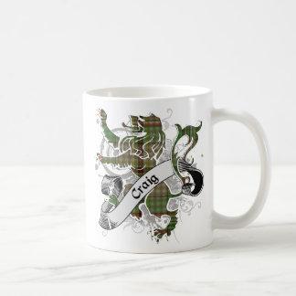Mug Lion de tartan de Craig