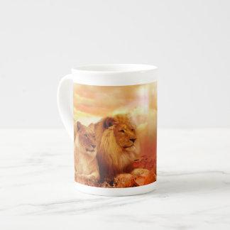Mug Lions africains - safari - faune