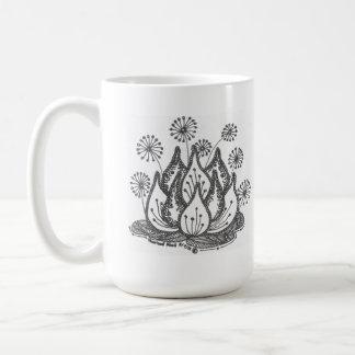 Mug Lis d'étang de feu d'artifice