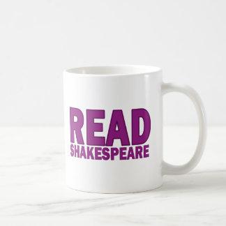 Mug Lisez Shakespeare