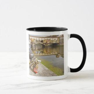 Mug L'Italie, Florence, les serrures d'amour et les