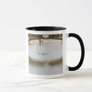 Mug L'Italie, Florence, ramant des avirons avec