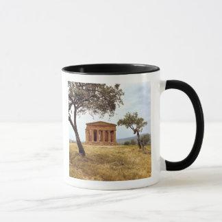 Mug L'Italie, Sicile, Agrigente. Les ruines des 2