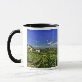 Mug L'Italie, Toscane, Greve. Les vignobles de