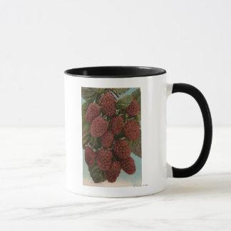 Mug Lithographie de Chromo de fruit de
