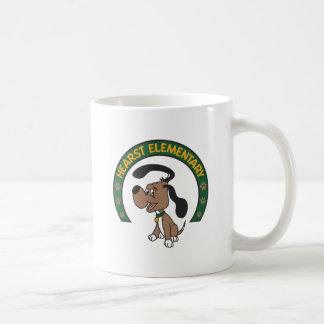 Mug Logo classique élémentaire de chien de Hearst