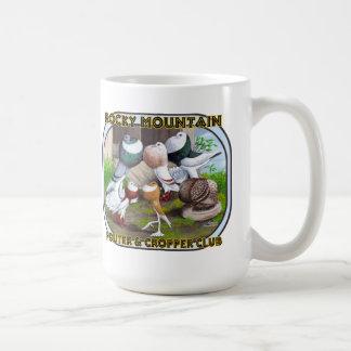 Mug Logo de club de montagne rocheuse