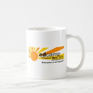 Mug Logo de fonctionnaire d'Edcamp Phoenix 2014