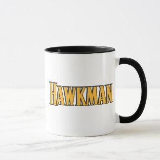 Mug Logo de Hawkman