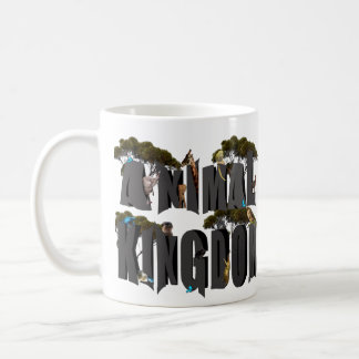 Mug Logo de règne animal avec des animaux,
