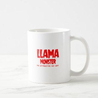 Mug Logo de rouge de monstre de lama