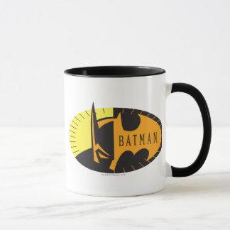Mug Logo de silhouette du symbole | de Batman