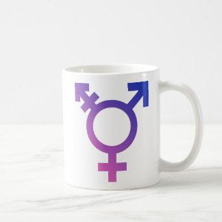 Mug Logo de symbole de transsexuel