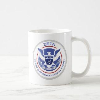 Mug Logo/joint tactiques d'agence de secours de zombi