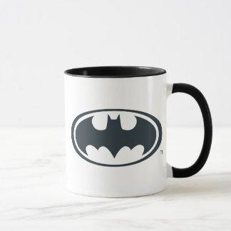 Mug Logo noir et blanc du symbole | de Batman