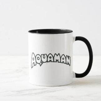Mug Logo noir grunge 2 d'Aquaman