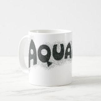 Mug Logo noir grunge d'Aquaman