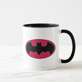 Mug Logo noir rouge du symbole | de Batman