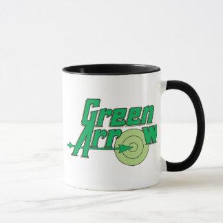 Mug Logo vert de flèche