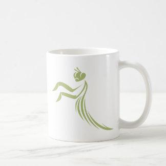 Mug Logo vert de mante de prière