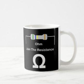 Mug L'OHM joignent la résistance