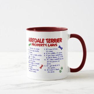 Mug Lois 2 de propriété d'AIREDALE TERRIER