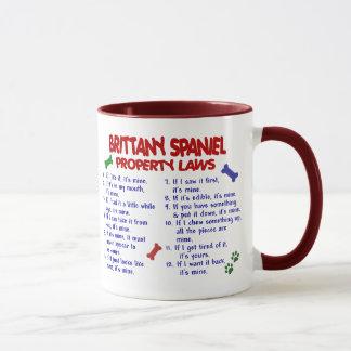 Mug Lois 2 de propriété d'ÉPAGNEUL de BRETAGNE