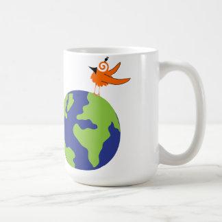 Mug L'oiseau tourbillonnant sauve le monde pour la