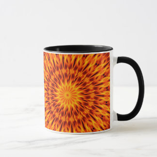 Mug L'orange flambe le kaléidoscope