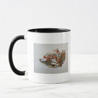 Mug L'orchestre de Johann Strauss à une boule de cour