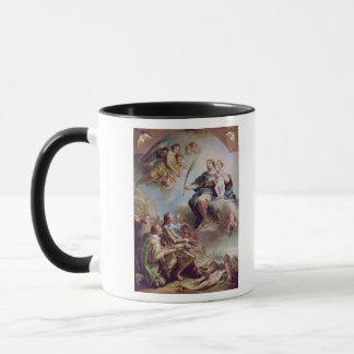 Mug Louis XIII consacrant l'église