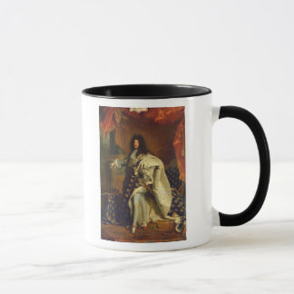 Mug Louis XIV dans le costume royal, 1701