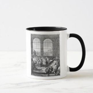 Mug Louis XIV et sa visite d'entourage