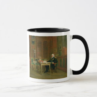 Mug Louis XVIII dans son étude chez le Tuileries