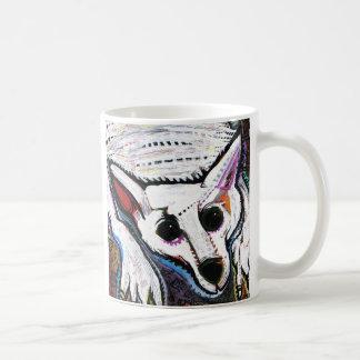 Mug Loup blanc (sous le lit)