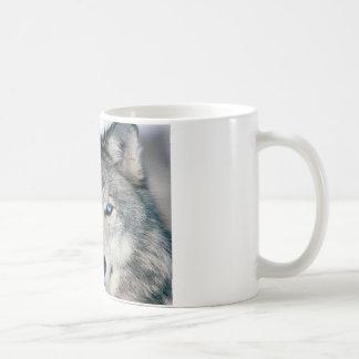 Mug Loup observé par bleu