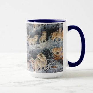 Mug Loups d'hiver