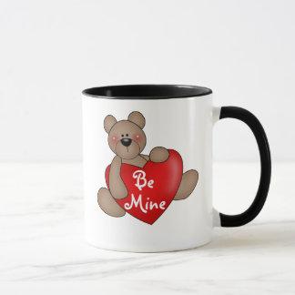 Mug L'ours avec le coeur soit le mien