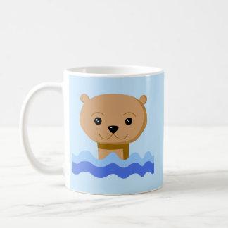 Mug Loutre de natation