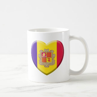 Mug Love drapeau Andorre