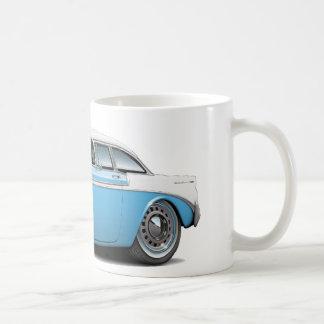 Mug Lt 1956 de Chevy Belair Bleu-Blanc Car