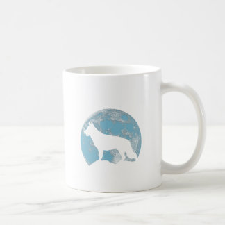 Mug Lune de chien de berger allemand