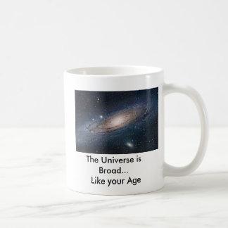 Mug L'univers est large…