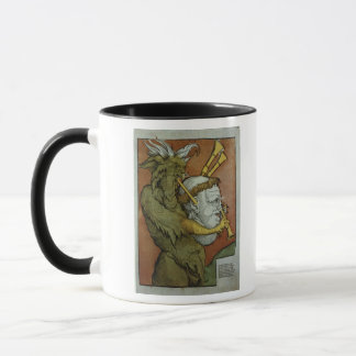 Mug Luther comme cornemuses du diable, c.1535