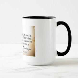 Mug Luther sur le mariage